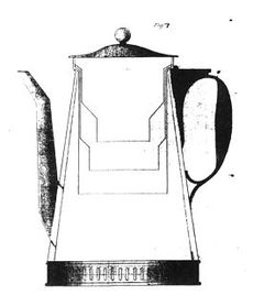 Rumford´s coffee percolator