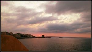 trapani puesta sol
